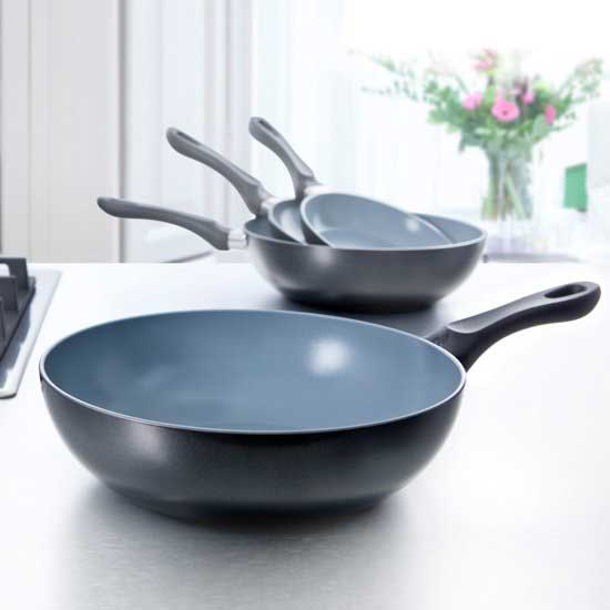 BK Easy Basic Ceramic Steelwokpan