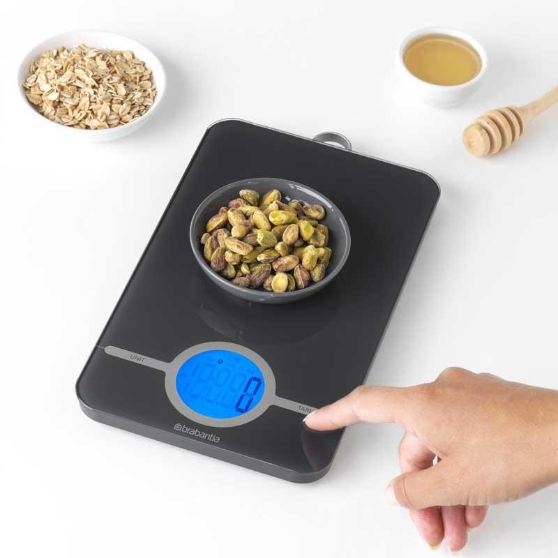 Brabantia-Tasty+-Keukenweegschaal-Digitaal