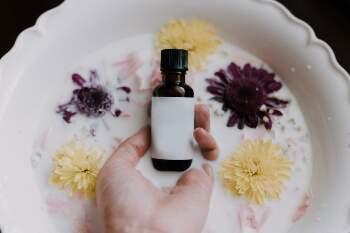 Etherische olie voor hoofdpijn