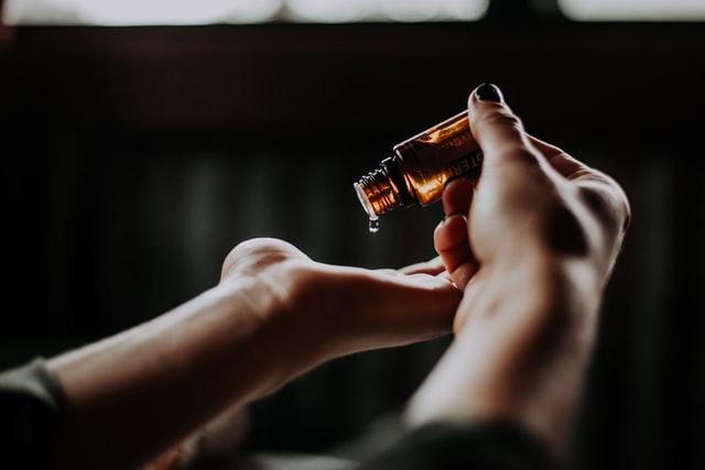 Etherische olie voor een diffuser